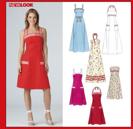 New Look 6377 Misses' Dresses