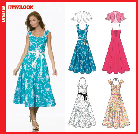 New Look 6675 Misses Sundress and Jacket