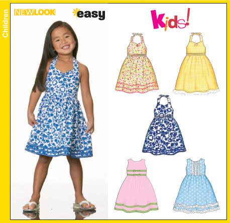 New Look 40 Child Dress And Sundress Inspiration Sundress Sewing Pattern