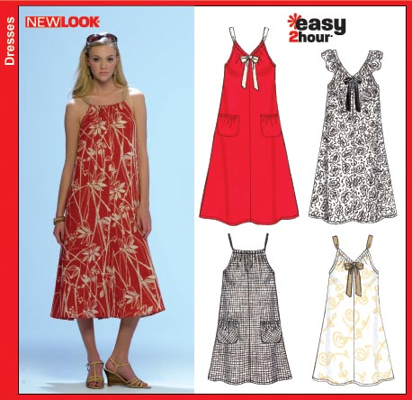 New Look 6700 Misses Pullover Dress