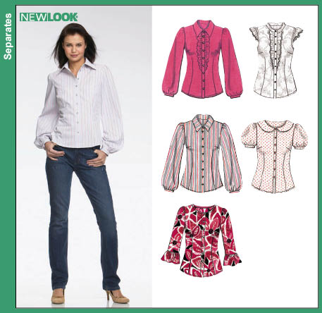 Blouse Patterns New Look 89