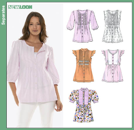 Blouse Patterns New Look 92