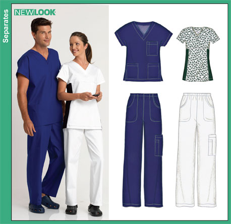 New Look 40 MissMen Scrubs Enchanting Scrub Top Patterns
