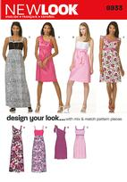 New Look 6933 Pattern( Size 4-6-8-10-12-14-16 )