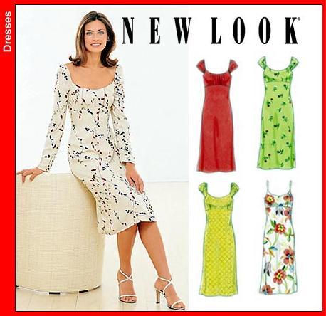 UNCUT Vintage New Look 6938 Sewing Pattern
