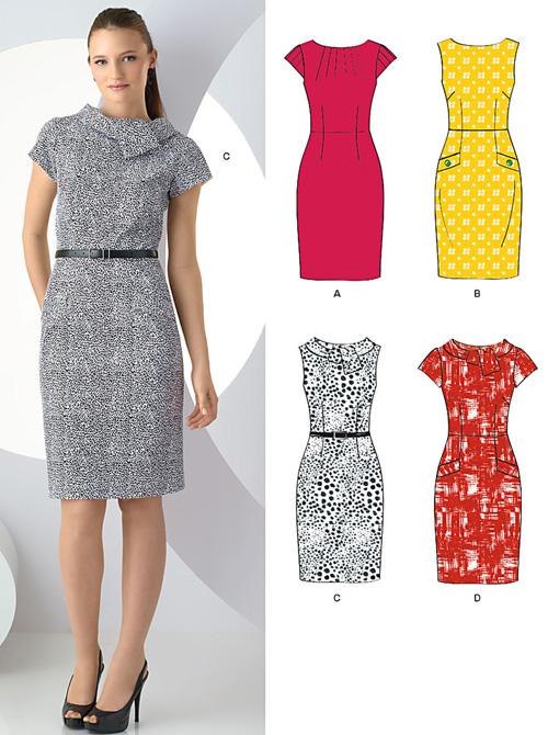New Look 6968 Misses\' Dresses