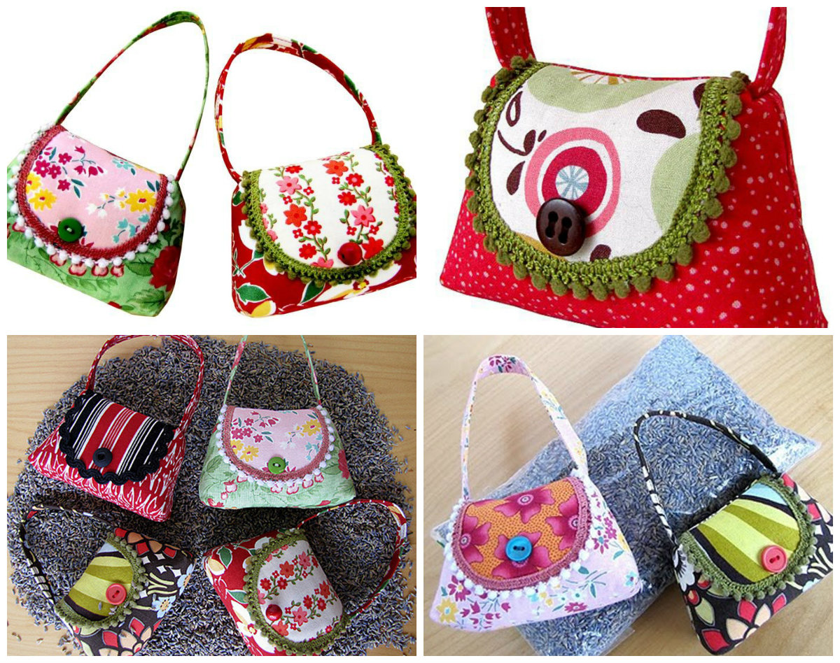 You sew girl lavender handbag downloadable pattern prevnext jeuxipadfo Image collections
