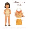 Oliver + S Badminton Skort, Top + Dress Pattern ( Size 5-12 )