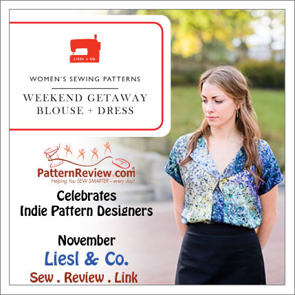 Indie Pattern Designer Contest: Liesl + Co. 12/26/13 - PatternReview ...