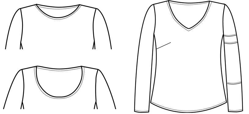 Pamela\'s Patterns 104 The Perfect T Shirt