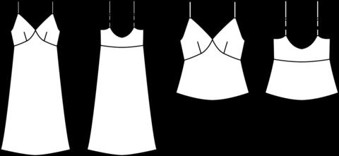 papercut patterns 1045 mito cami dress