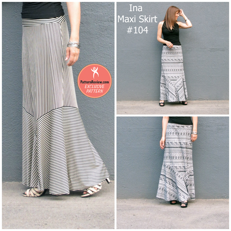 PatternReview 104 Ina Skirt