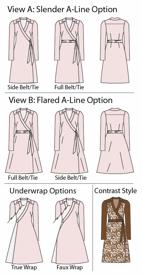 PatternReview 107 Claire Wrap Dress