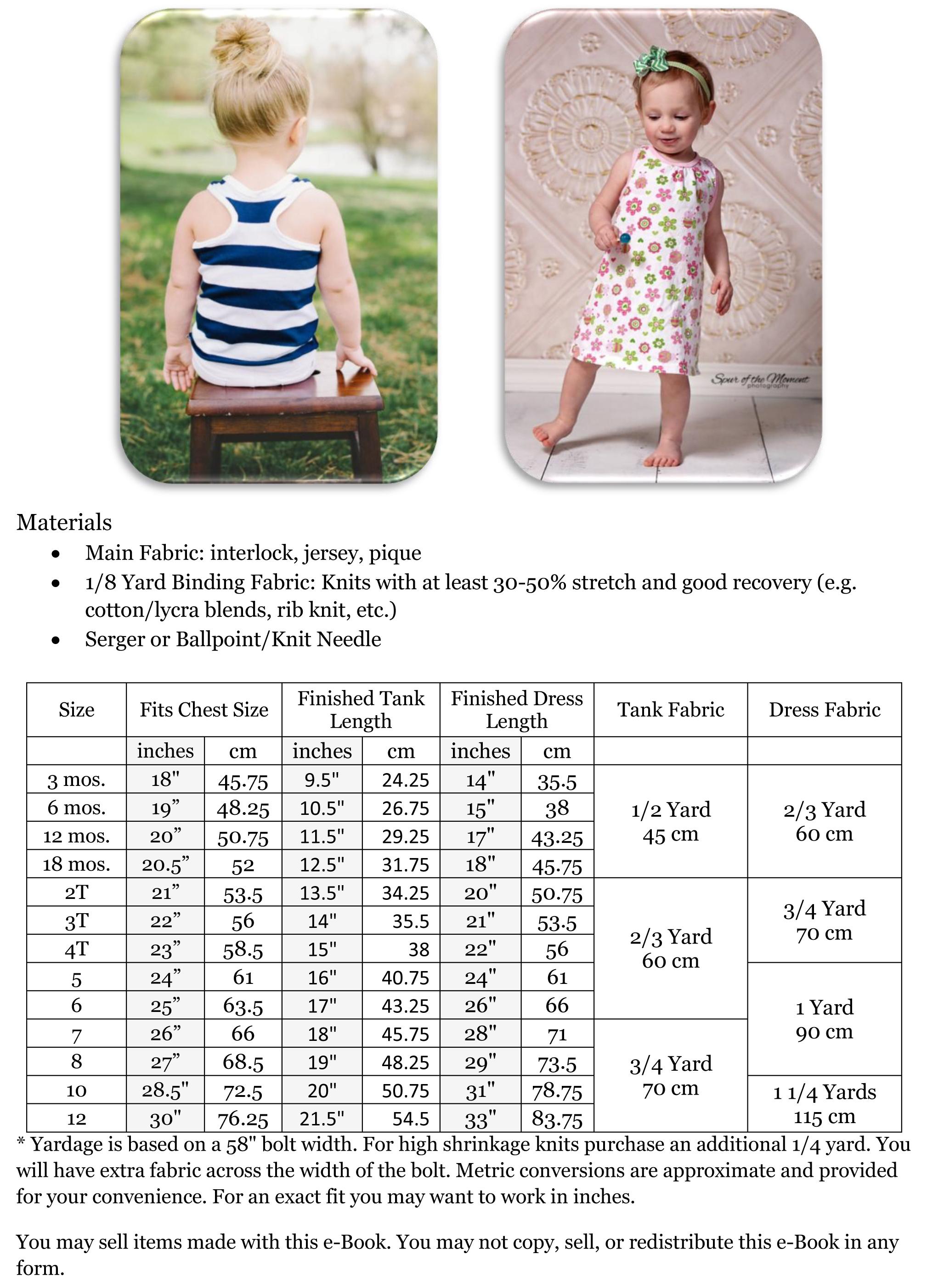 Peek A Boo Pattern Shop Rio Racerback Tank Dress Downloadable