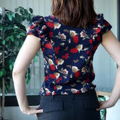 Sewaholic Patterns Pendrell Blouse Pattern