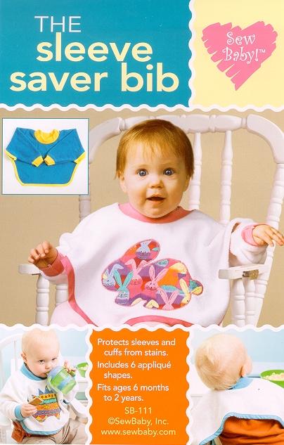 Sew Baby 111 SewBaby The Sleeve Saver Bib Pattern