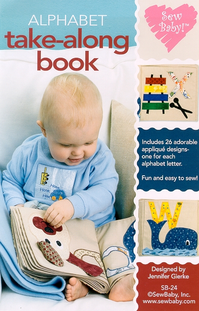 SewBaby Alphabet Take-Along book Pattern