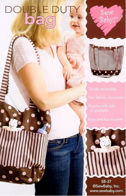 SewBaby Double Duty Bag Pattern