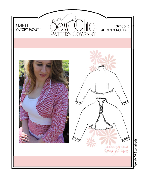 Sew Chic LN1414 Victory Jacket