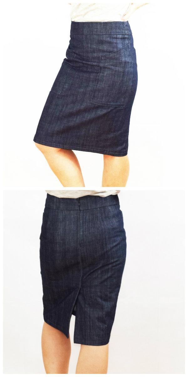 Sew House Seven 102 Alberta Street Pencil Skirt Downloadable Pattern