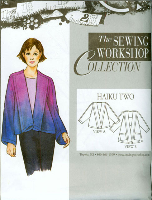 Sewing Workshop Haiku Two Pattern