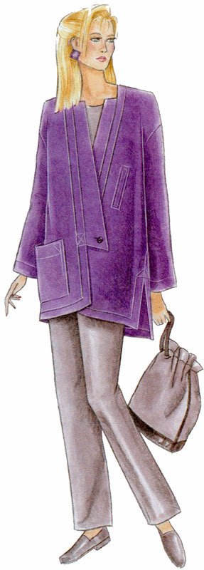 Sewing Workshop Nikko Jacket Pattern