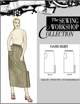 Sewing Workshop Oasis Skirt Pattern