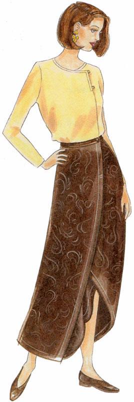 Sewing Workshop Origami Skirt
