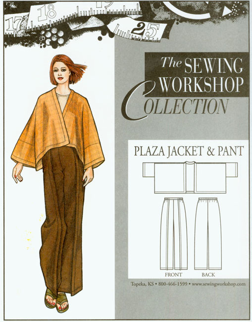 Sewing Workshop Plaza Jacket & Pants Pattern