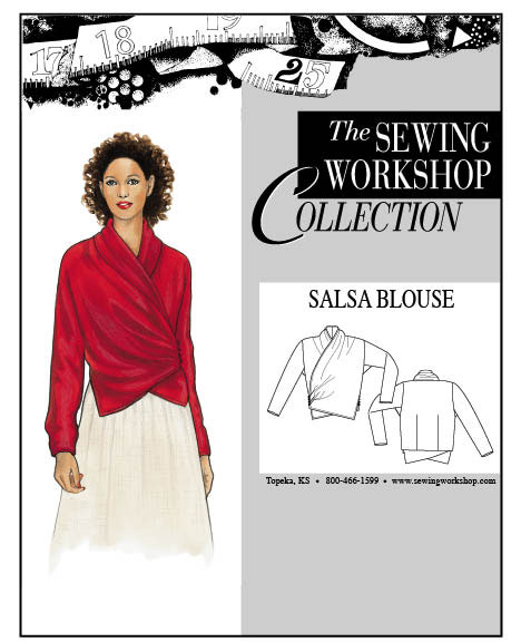 Sewing Workshop Salsa Blouse Pattern