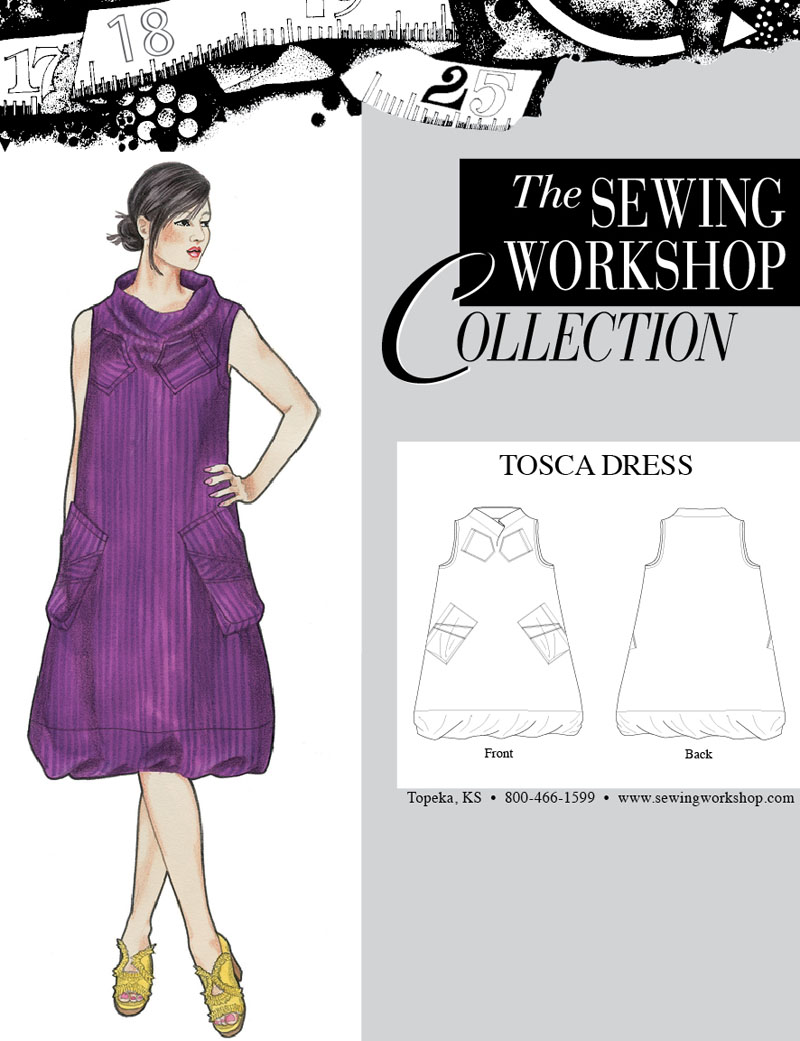 Sewing Workshop Tosca Dress