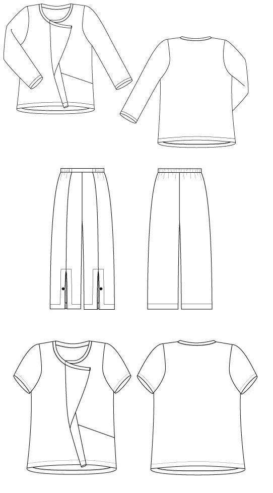 Sewing Workshop Urban T-Shirt & Pants