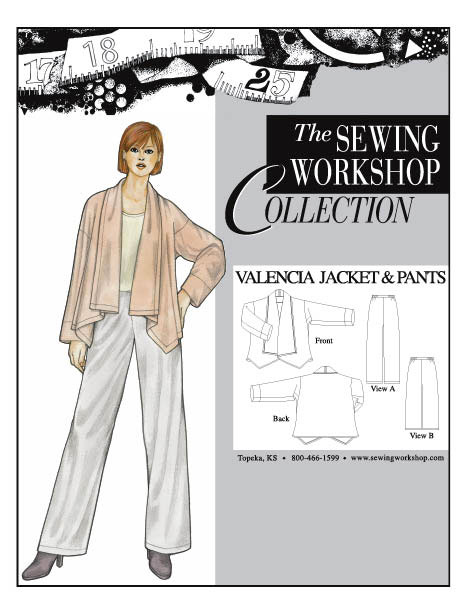Sewing Workshop Valencia Jacket & Pants Pattern