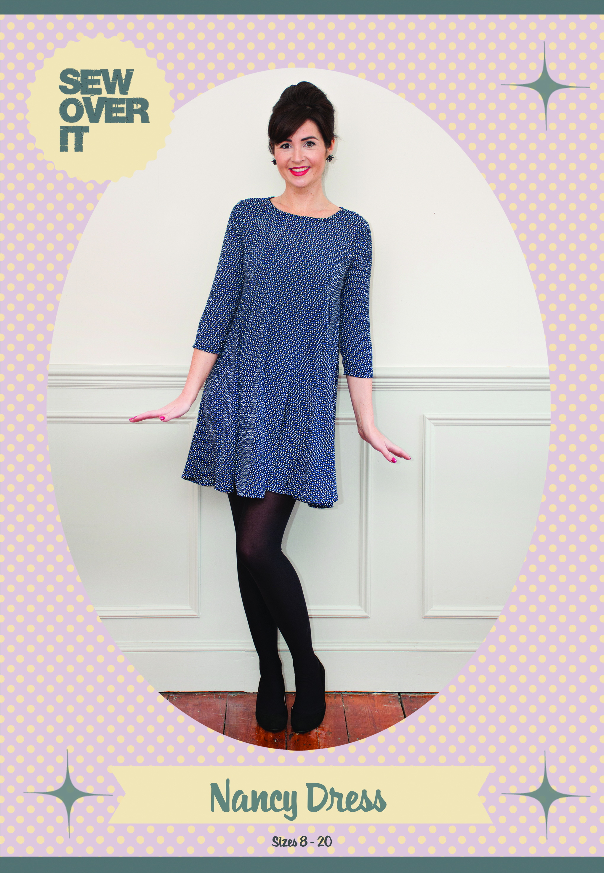 Sew over it nancy dress downloadable pattern prevnext jeuxipadfo Image collections