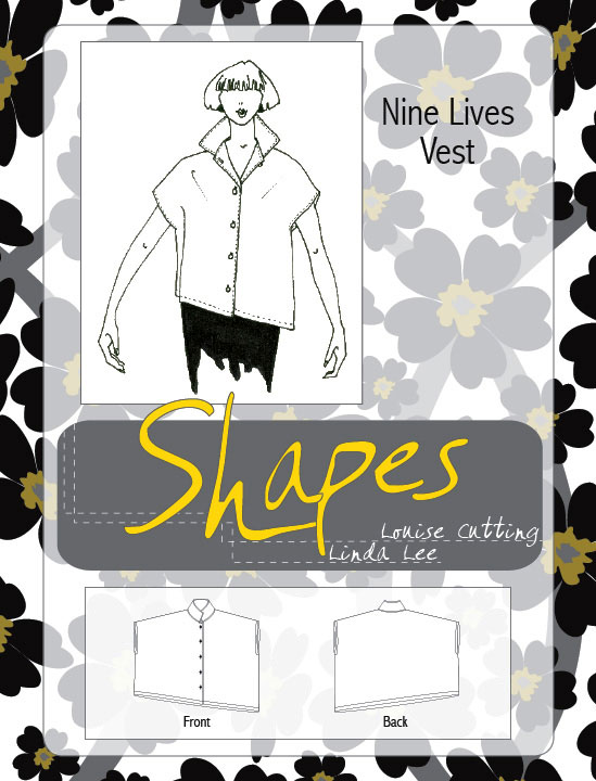 Shapes Nine Lives Vest Pattern