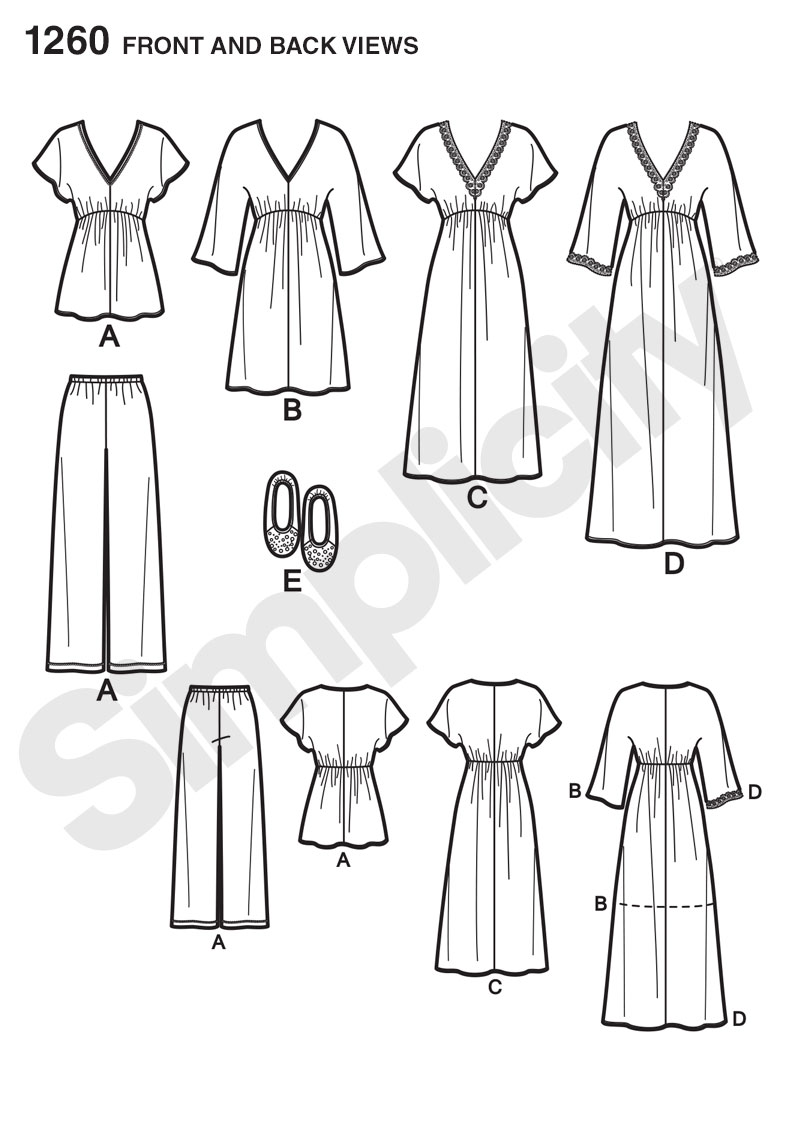 Nightgown Pattern New Design Ideas