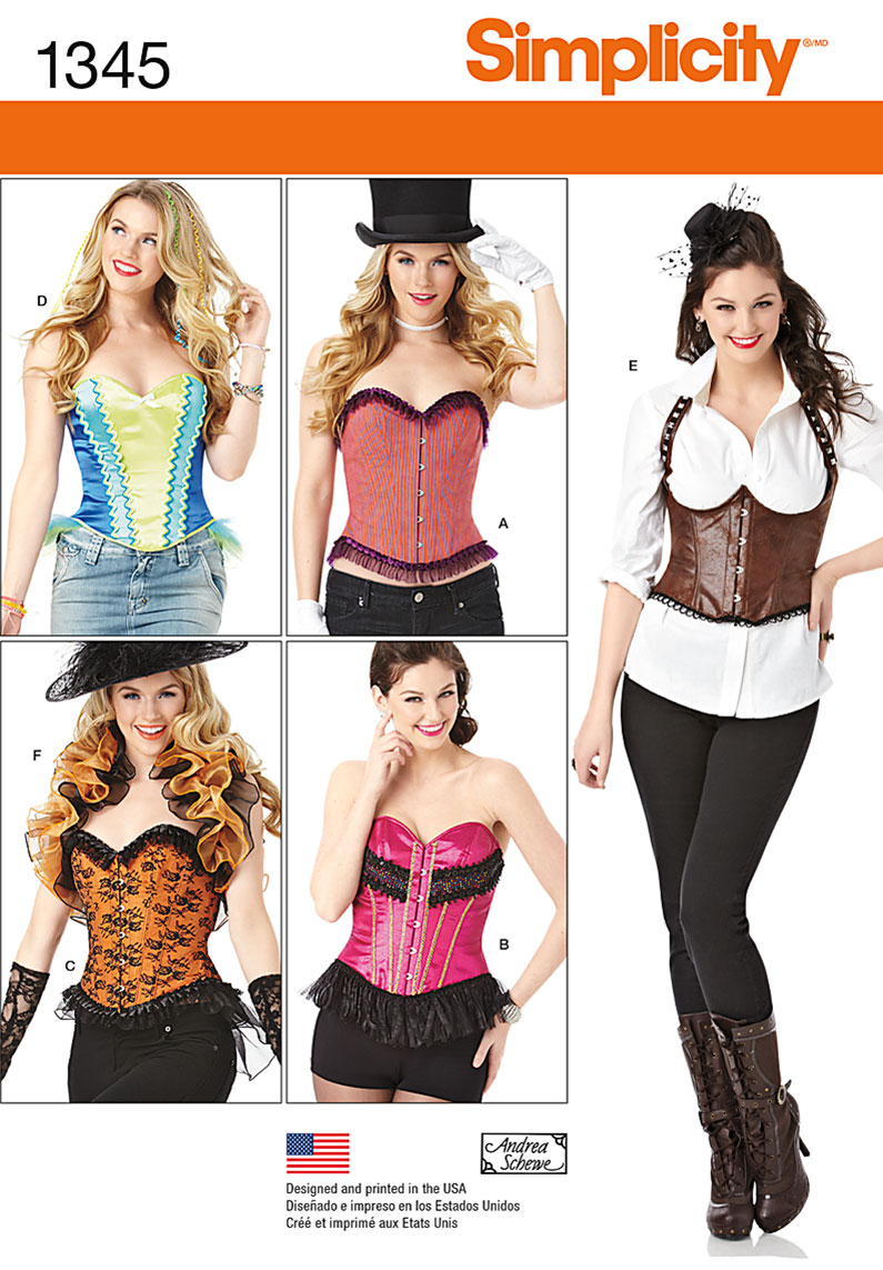 Corset Sewing Pattern New Decorating Design