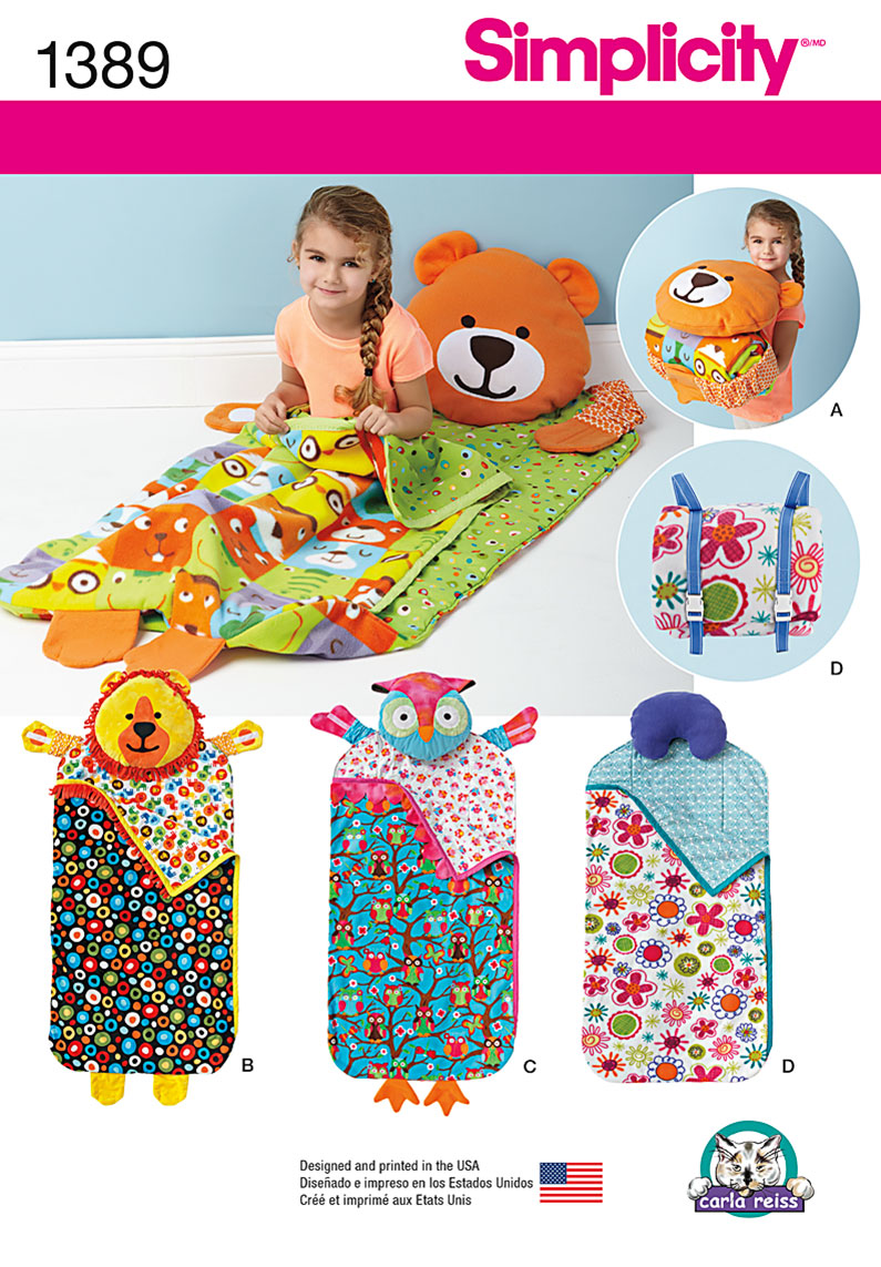 Simplicity 1389 Child S Nap Pack