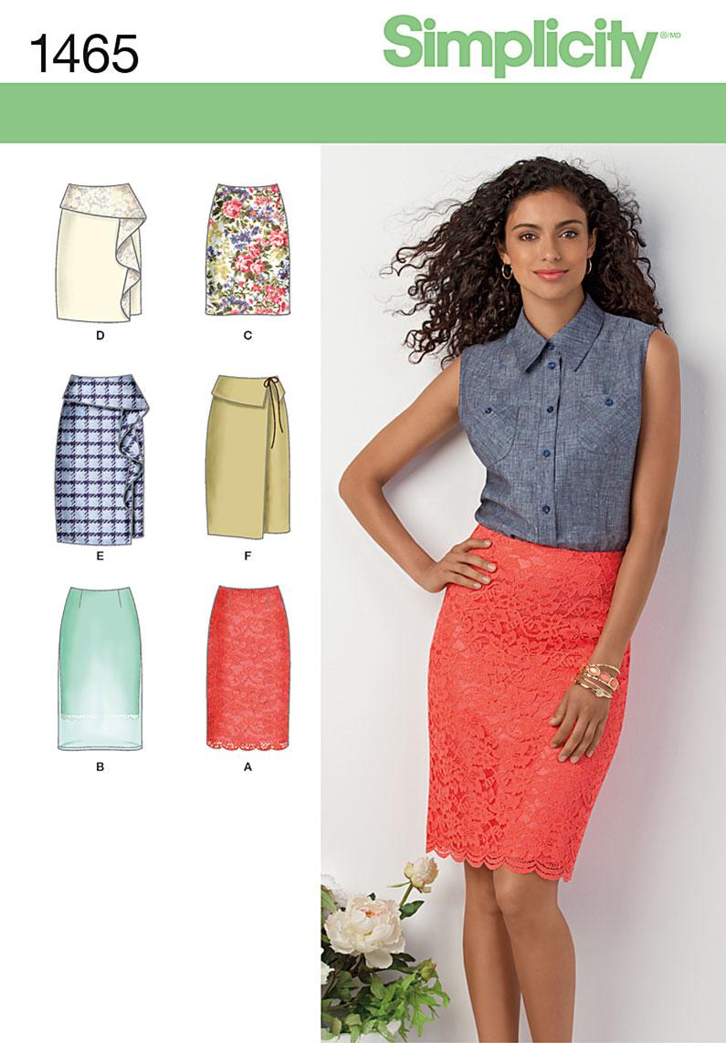Simplicity Skirt Patterns Unique Decorating Design