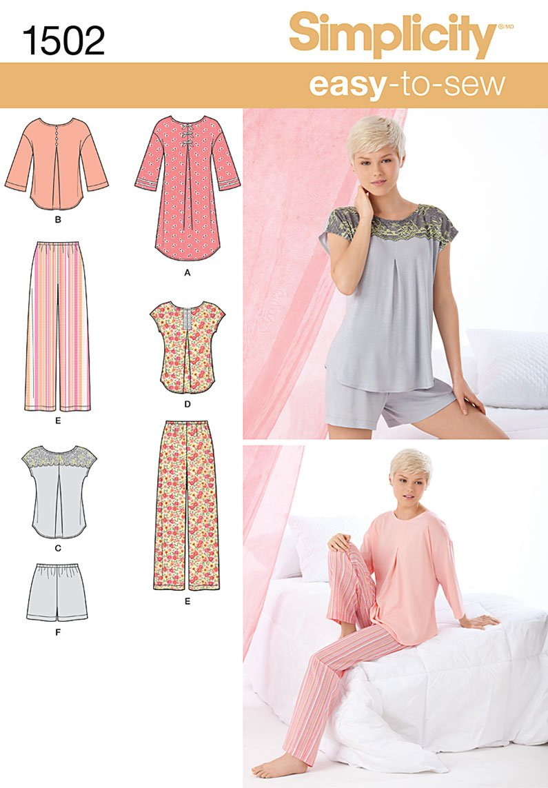 Simplicity Pajama Patterns Interesting Ideas