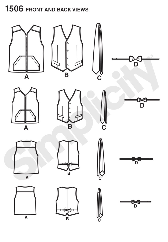 Boys Vest Pattern Simple Inspiration Ideas