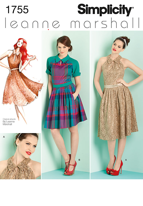 Simplicity 1755 Misses' & Miss Petite Dresses