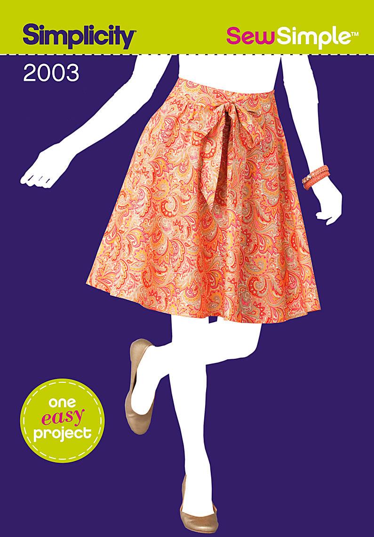 Simplicity 2003 sew simple misses skirt prevnext jeuxipadfo Images