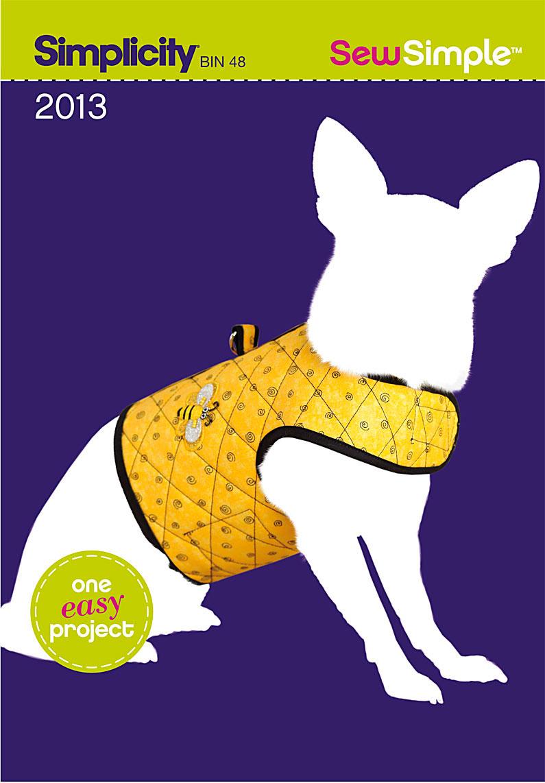 Simplicity 2013 sew simple dog coat prevnext jeuxipadfo Image collections