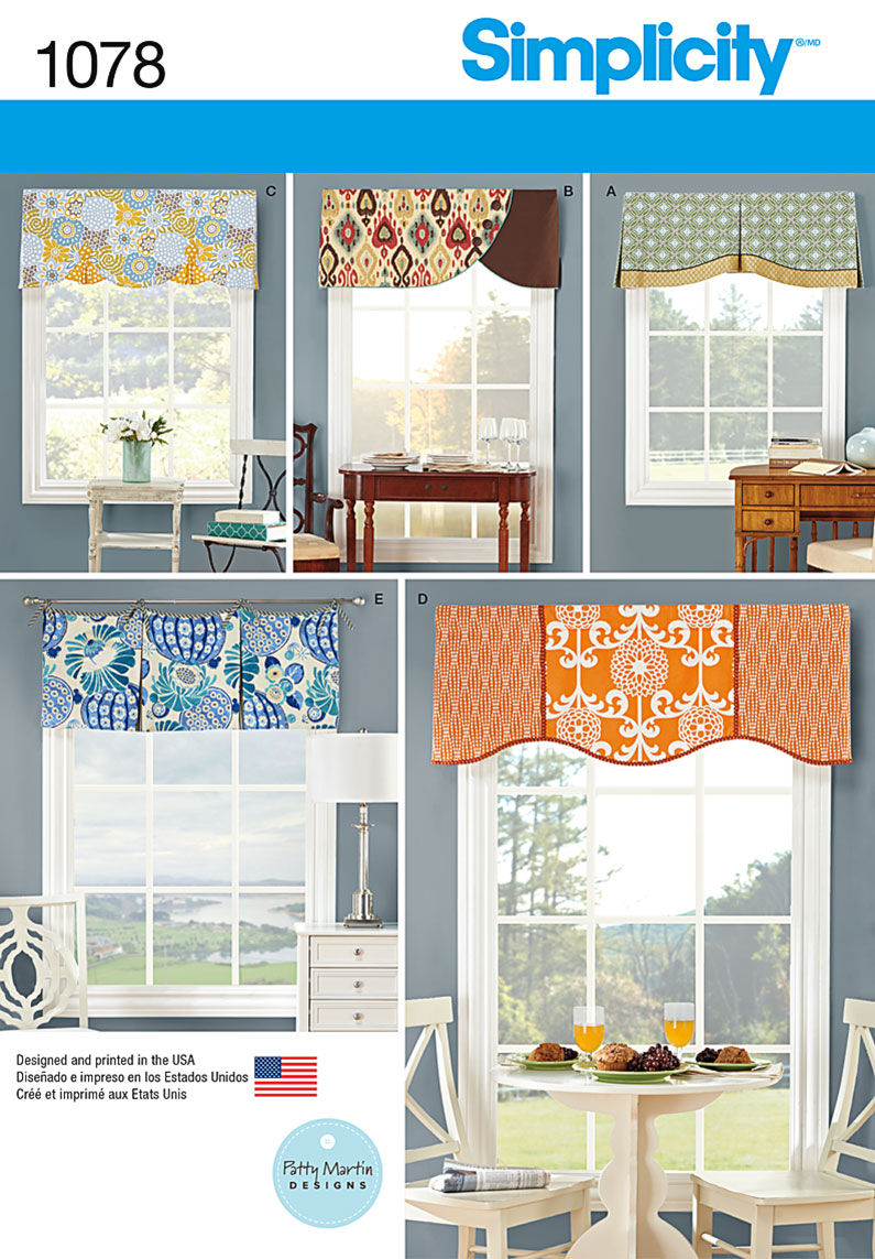 Free Valance Sewing Patterns Images
