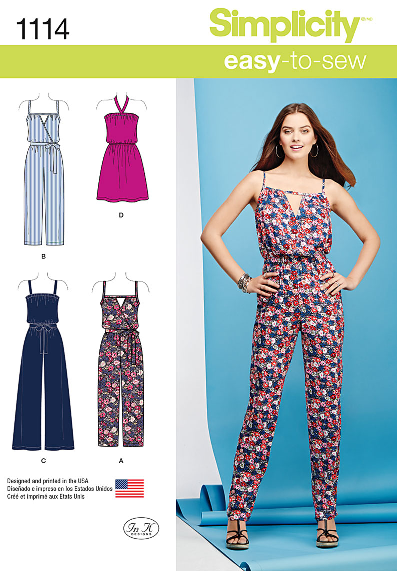 Simplicity Jumpsuit Pattern Awesome Inspiration Design