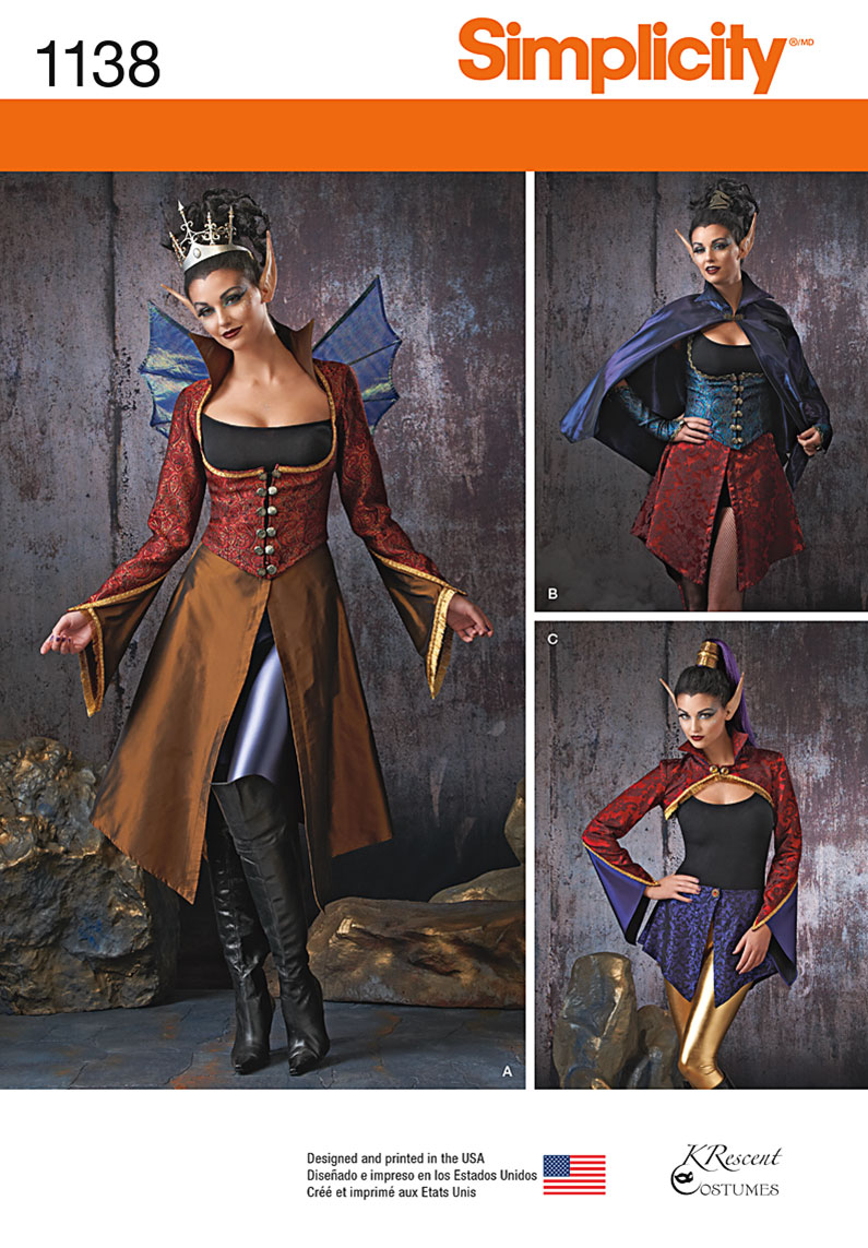 Simplicity Patterns Costumes Magnificent Design Inspiration
