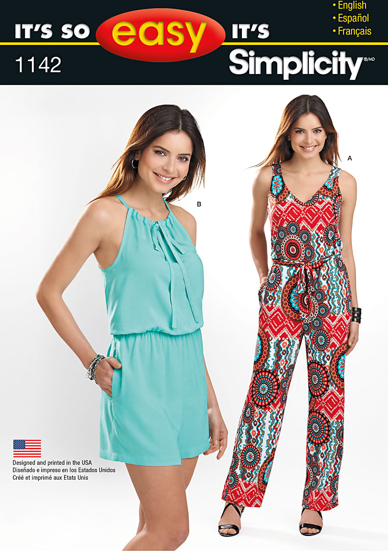 Simplicity Jumpsuit Pattern Awesome Ideas