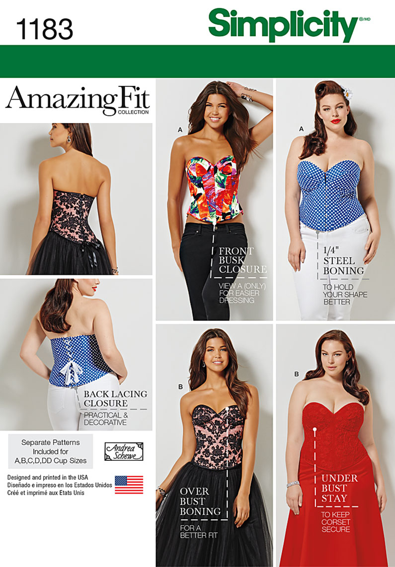 Corset Sewing Pattern Best Design