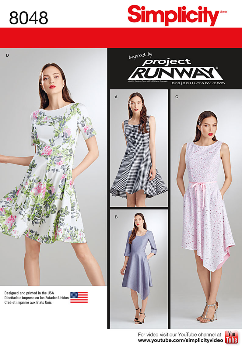 PrevNext Misses Dresses Inspired By Project Runway Feature Square Or Scoop Necklines Princess Seam